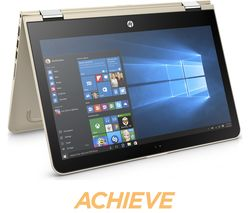 "HP Pavilion x360 13.3"" 2 in 1 - Modern Gold"