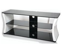 VIVANCO Sirocco 1100 TV Stand - Black & White