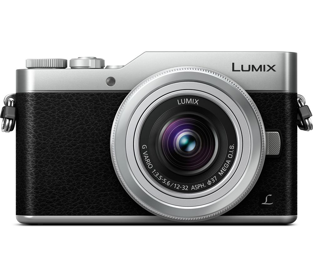 PANASONIC LUMIX DC-GX800 Mirrorless Camera with 12-32 mm f/3.5-5.6 Lens - Silver