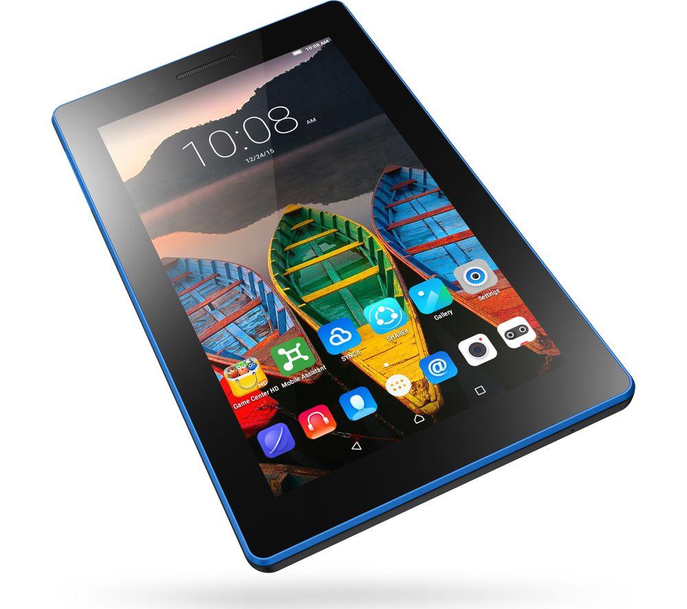 LENOVO TAB 3 7 Essential Tablet - 8 GB, Black