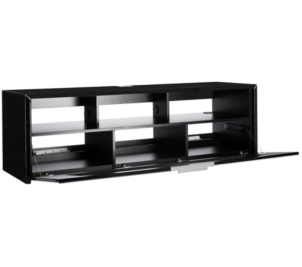 schnepel s1 mk sound tv stand black gloss deals pc world. Black Bedroom Furniture Sets. Home Design Ideas