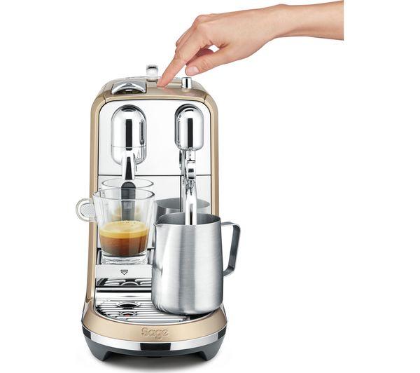 buy nespresso by sage creatista bne600rch coffee machine. Black Bedroom Furniture Sets. Home Design Ideas