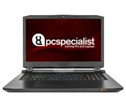 "PC SPECIALIST Octane III RS17-VR 17.3"" 4K Gaming Laptop - Black"