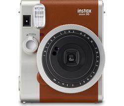 INSTAX Mini 90 Instant Camera - Brown