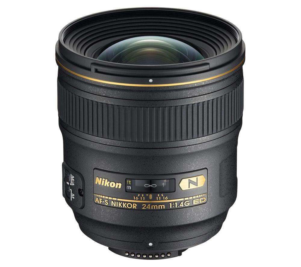 NIKON AF-S NIKKOR 24 mm f/1.4 G ED Wide-angle Prime Lens