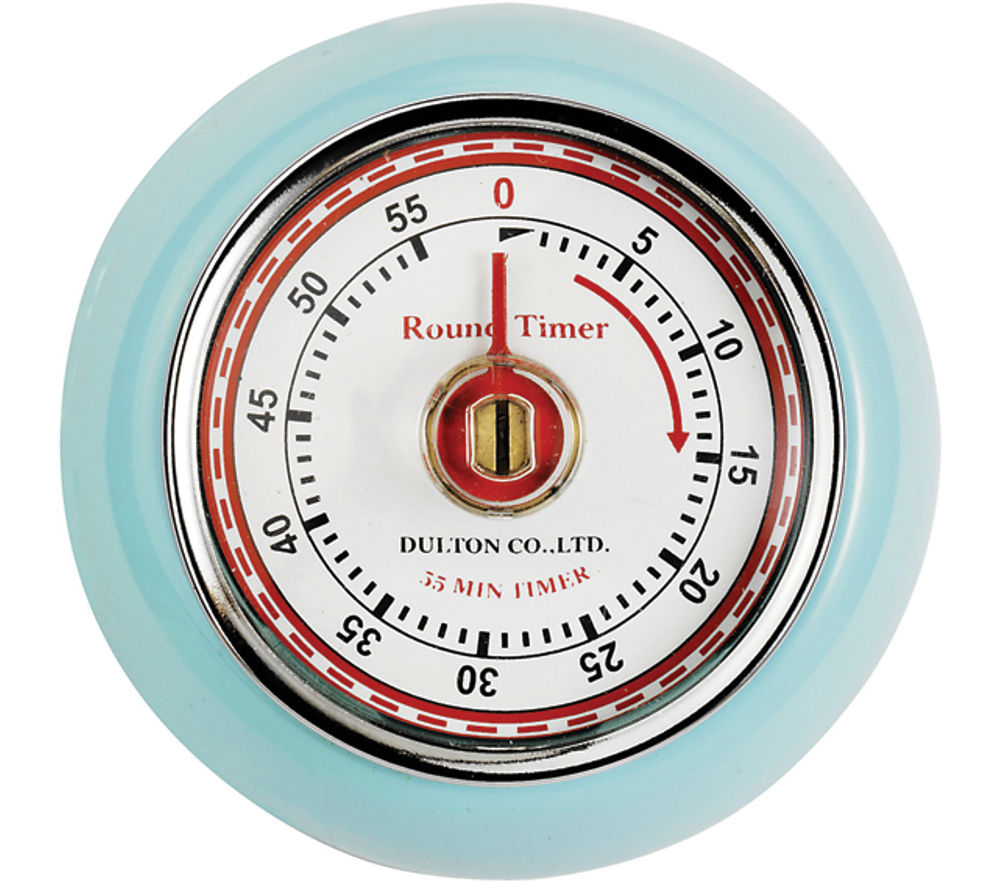 EDDINGTONS Retro Magnetic Kitchen Timer - Blue