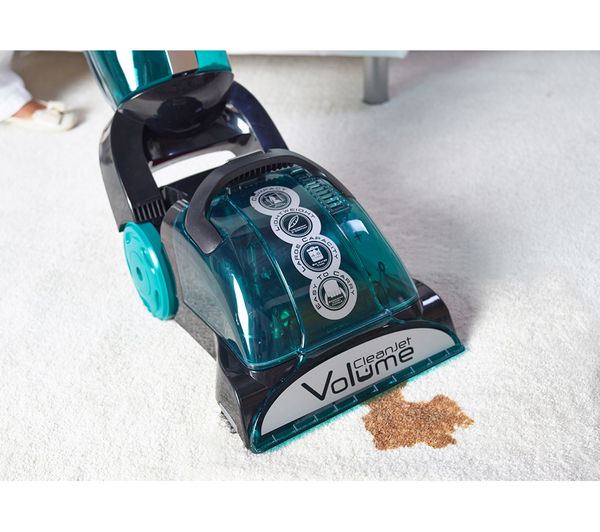 hoover cj625 cleanjet volume upright carpet cleaner black u0026 blue