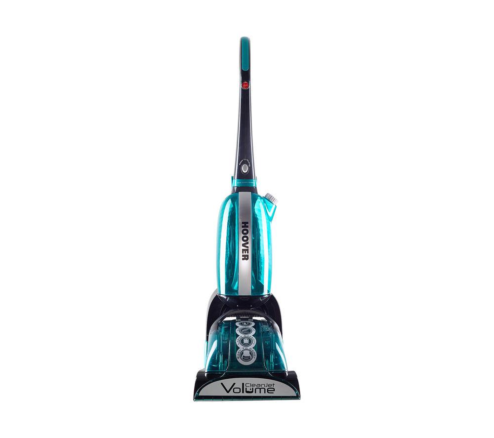 HOOVER CJ625 CleanJet Volume Upright Carpet Cleaner - Black & Blue