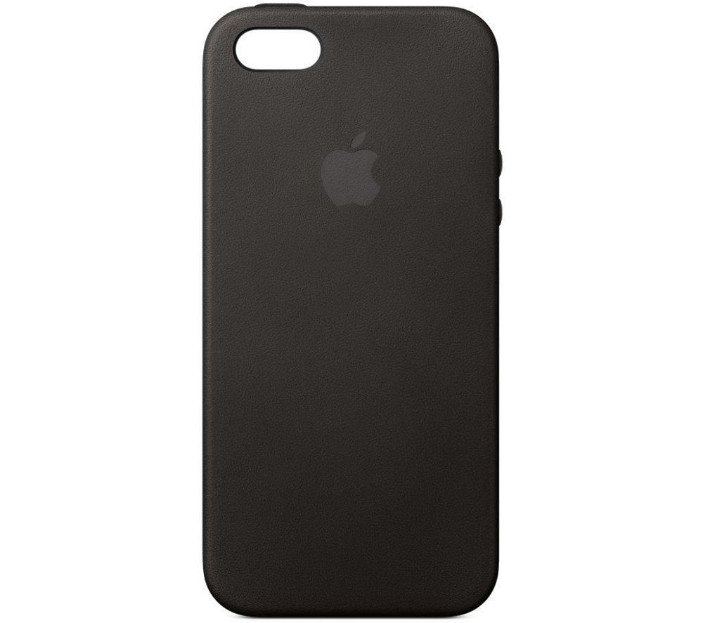 Buy apple iphone 5s leather case black free delivery currys - Iphone 5s leather case ...
