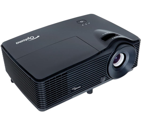 Optoma s310 portable projector deals pc world for Portable projector for laptop