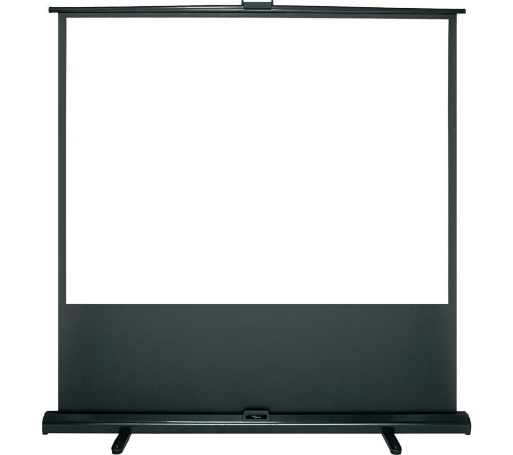 "OPTOMA DP-3084MWL 84"" Portable Pull Up Projector Screen"