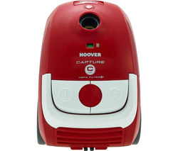 HOOVER Capture CP71 CP01001 Cylinder Vacuum Cleaner - Red & White