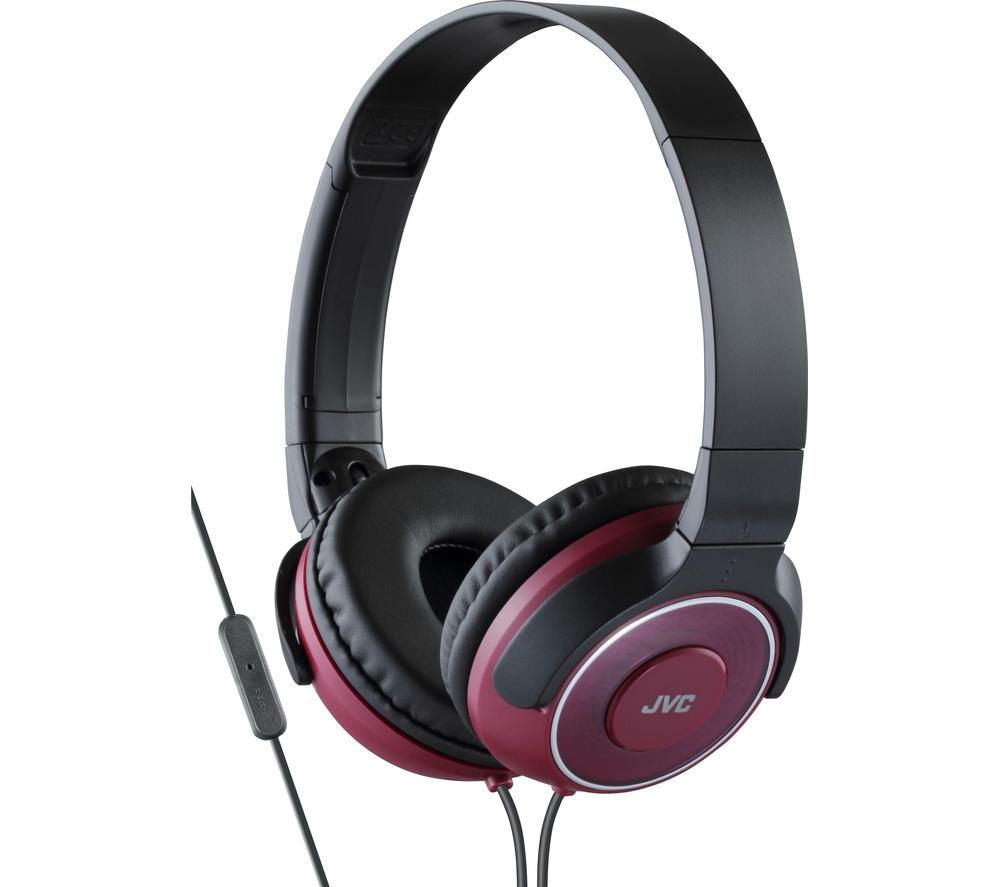 JVC HA-SR225-R-E Headphones - Red