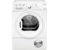 HOTPOINT Aquarius TCFS93BGP Condenser Tumble Dryer - White