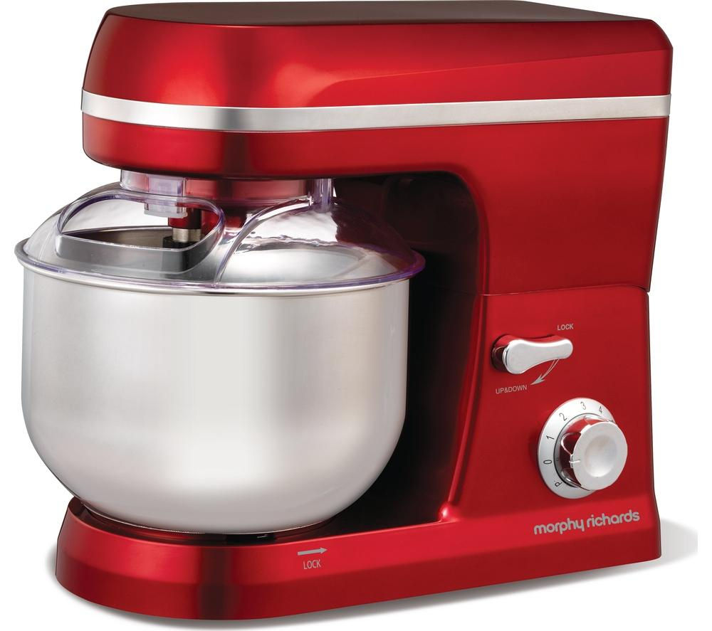 morphy-richards-400010-stand-mixer-red-red