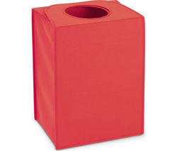 BRABANTIA Rectangular 55-litre Laundry Bag - Warm Red