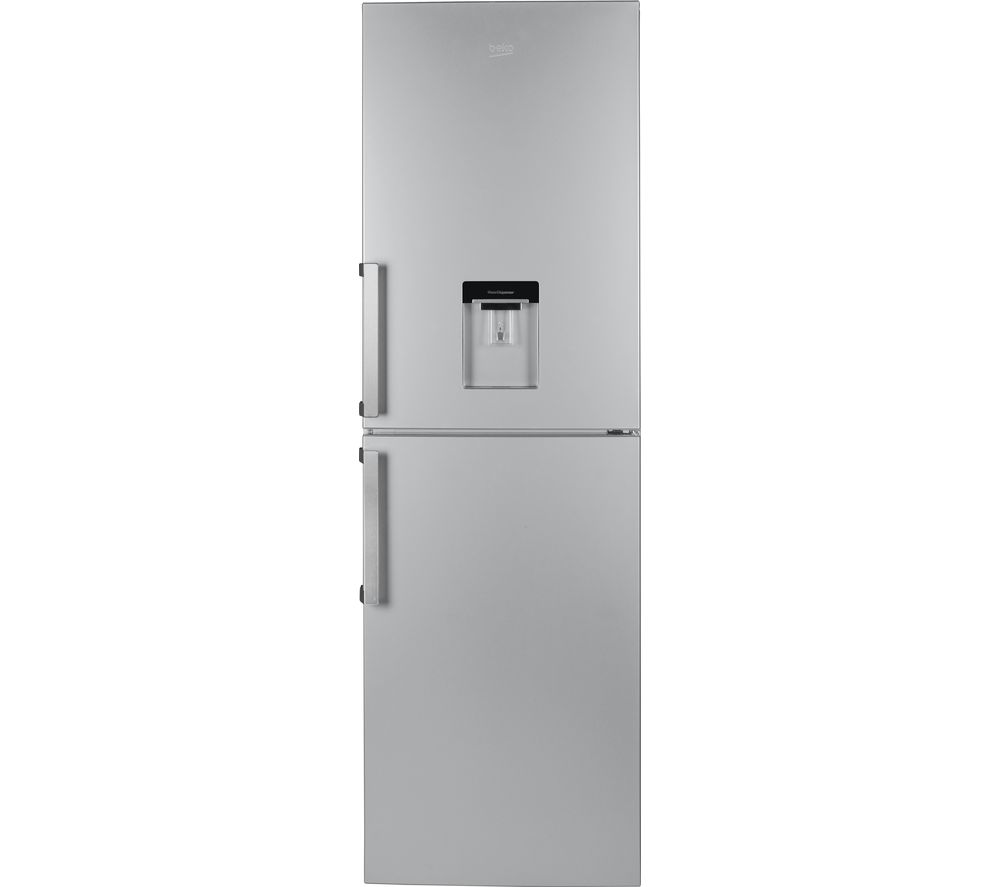 BEKO  CFP1691DS Fridge Freezer  Matte Silver Silver