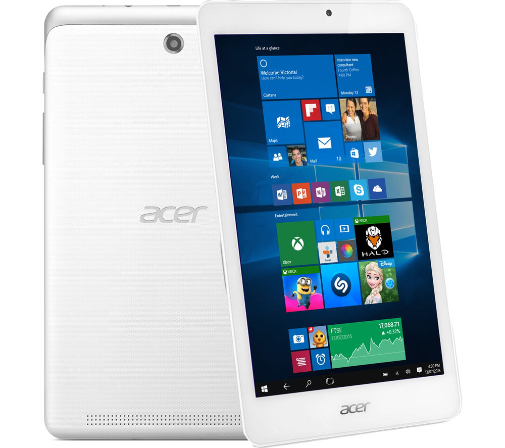 acer iconia tab 8 w 8 tablet 32 gb white deals pc world. Black Bedroom Furniture Sets. Home Design Ideas