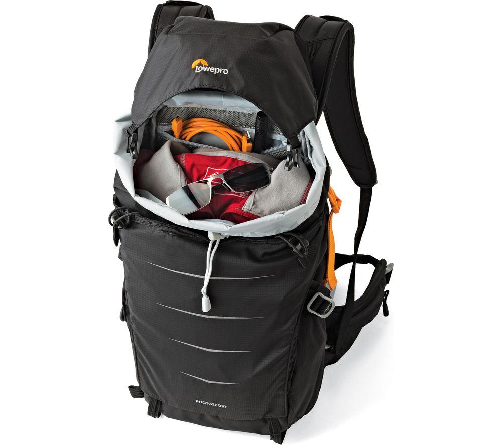 LOWEPRO Photo Sport BP 200 AW DSLR Camera Backpack - Black