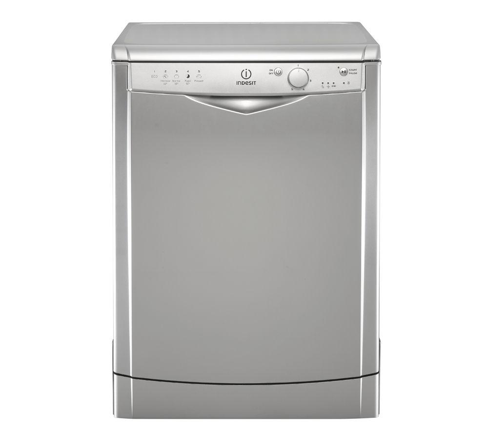 INDESIT DFG15B1S Full-size Dishwasher - Silver