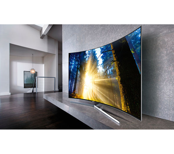 buy samsung ue55ks9000 smart 4k ultra hd hdr 55 curved led tv hw j6500r 2 1 wireless curved. Black Bedroom Furniture Sets. Home Design Ideas