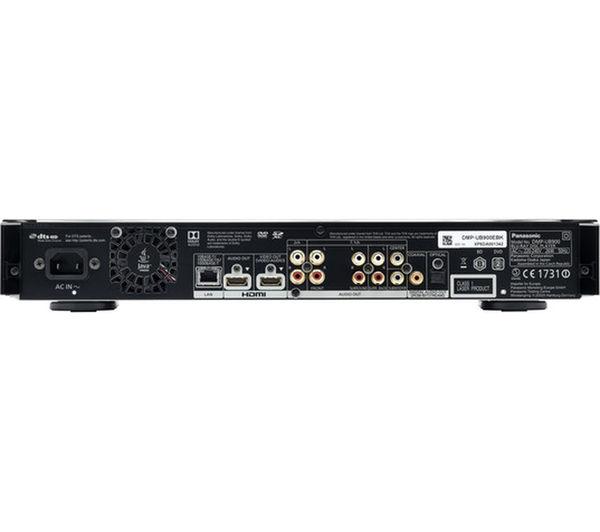 PANASONIC DMP-UB900EBK Smart 4k Ultra HD 3D