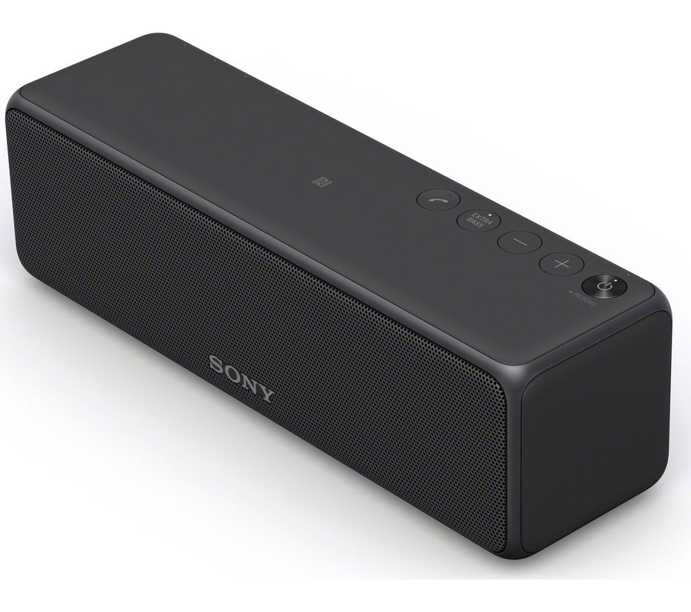 SONY h.ear go SRS-HG1B Portable Wireless Smart Sound Speaker - Black
