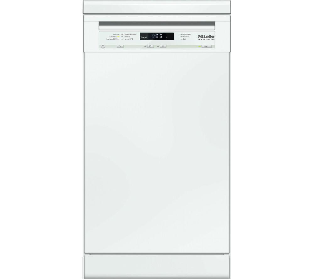 MIELE  G4720SC Slimline Dishwasher  White White
