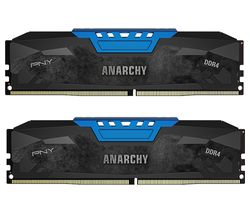 PNY Anarchy PC4-19200 DDR4 PC Memory - 2 x 8 GB DIMM RAM
