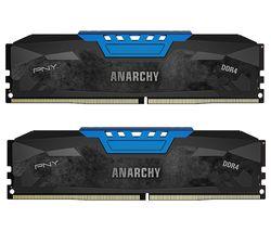 PNY Anarchy PC4-19200 DDR4 PC Memory - 2 x 8 GB DIMM RAM