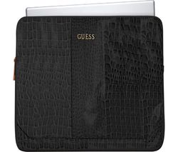 "GUESS 13"" Laptop Sleeve - Crocodile Black"