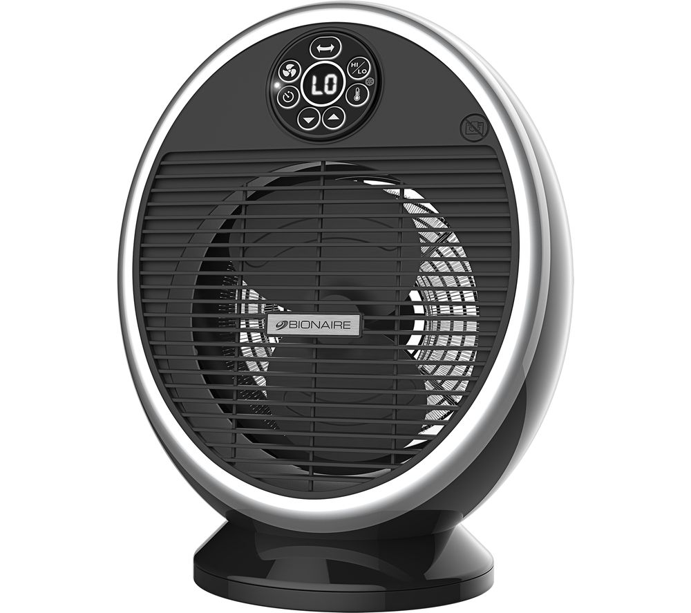 Image of BIONAIRE BFH004 Fan Heater - Black, Black