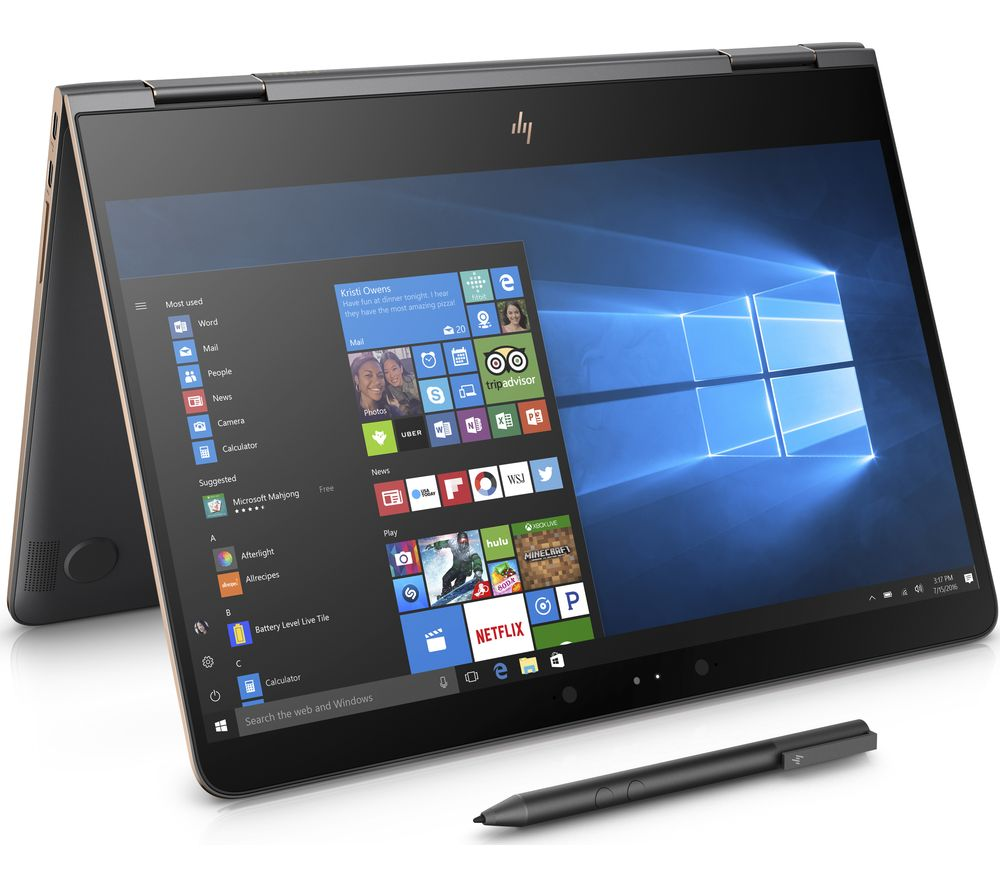 HP Spectre x360 13-ac052na 2 in 1 - Ash Silver + Office 365 Personal