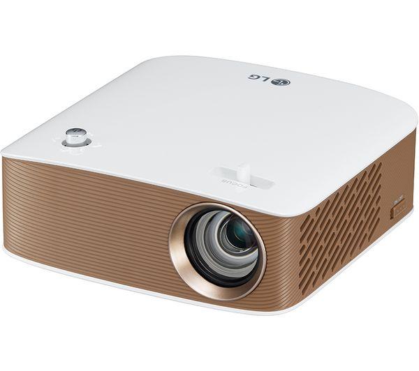 Buy lg minibeam ph150g short throw hd ready portable for Pocket sized hd projector