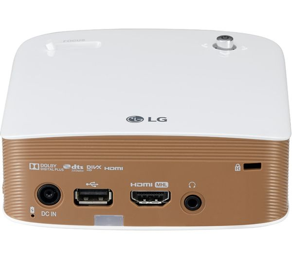 Lg minibeam ph150g short throw hd ready portable projector for Pocket sized hd projector