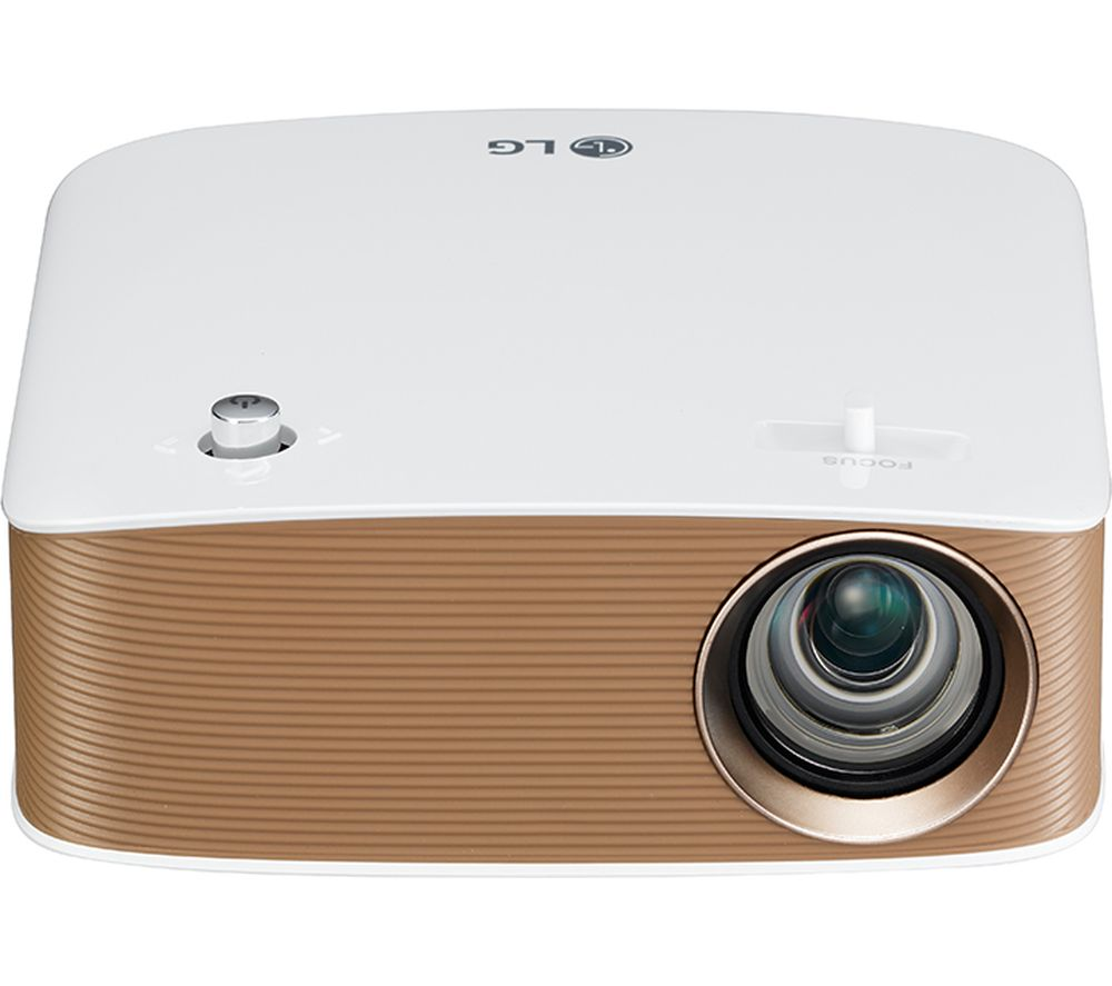 Lg minibeam ph150g short throw hd ready portable projector for Portable projector for laptop