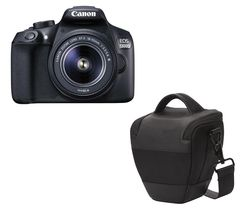 CANON EOS 1300D DSLR Camera with 18-55 mm f/3.5-f/5.6 Zoom Lens - Black