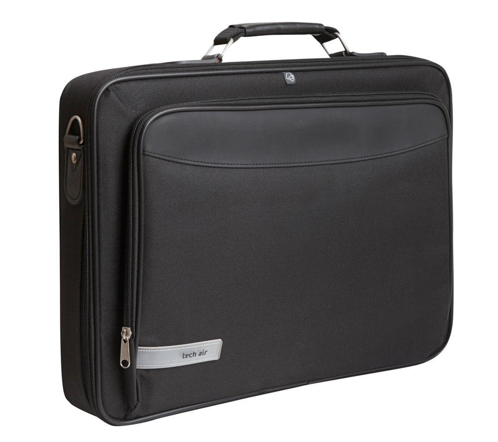 "TECHAIR Z0119 17.3"" Laptop Briefcase - Black"