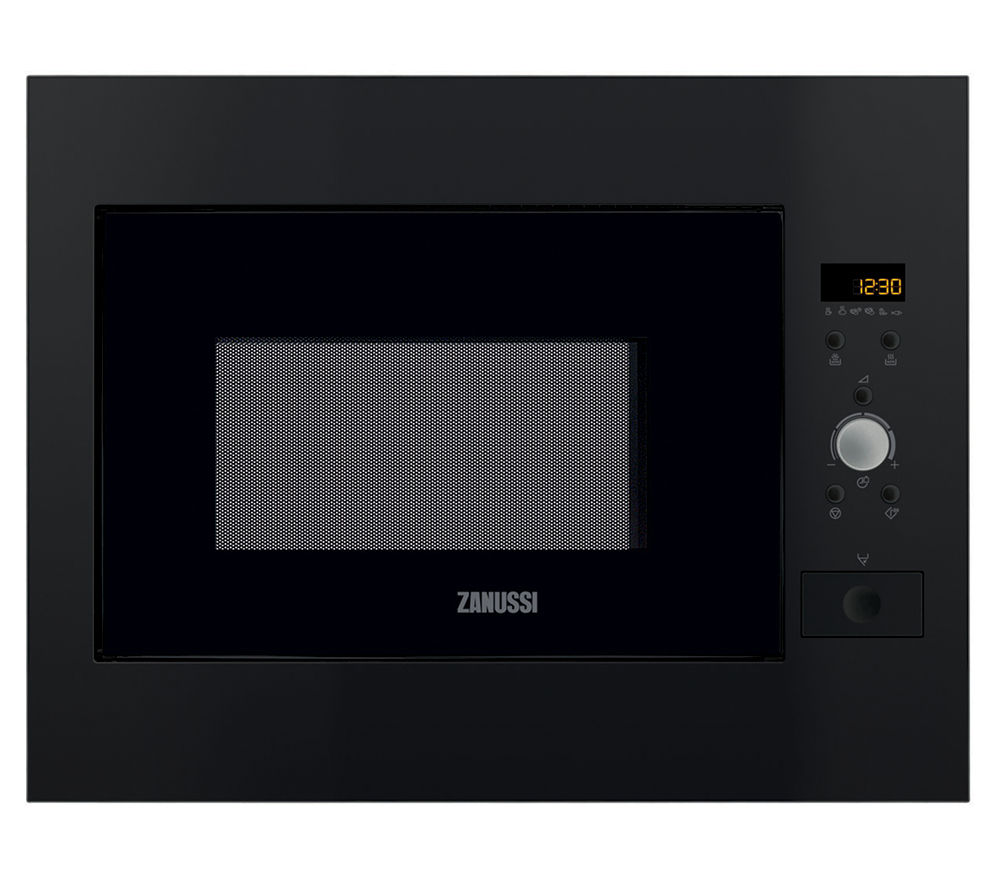ZANUSSI ZBM26542BA Built-in Solo Microwave - Black