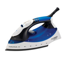 MORPHY RICHARDS Turbosteam 40679 Steam Iron - Blue