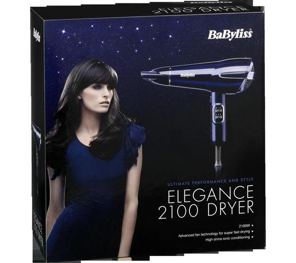 Buy BABYLISS 5560JU Elegance 2100 Hair Dryer