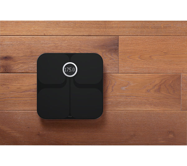 Fitbit Aria Wifi Smart Bathroom Scales Black