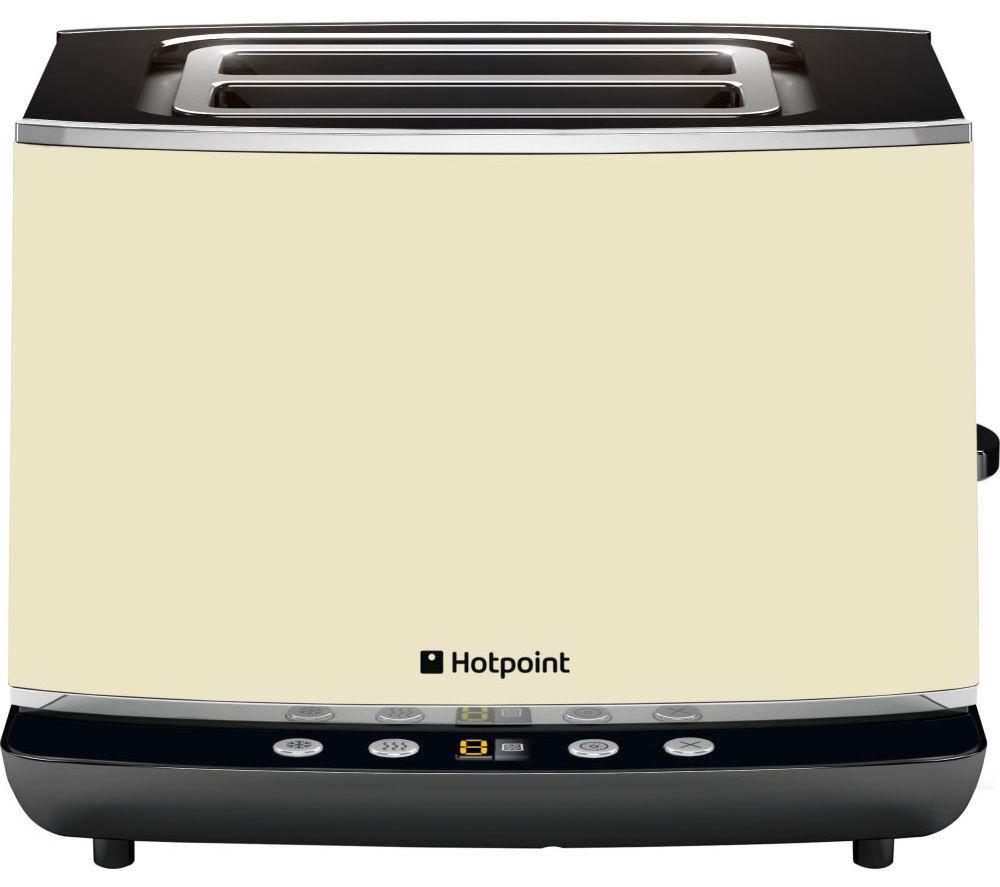 HOTPOINT TT 22E AC0 UK 2-Slice Toaster - Cream