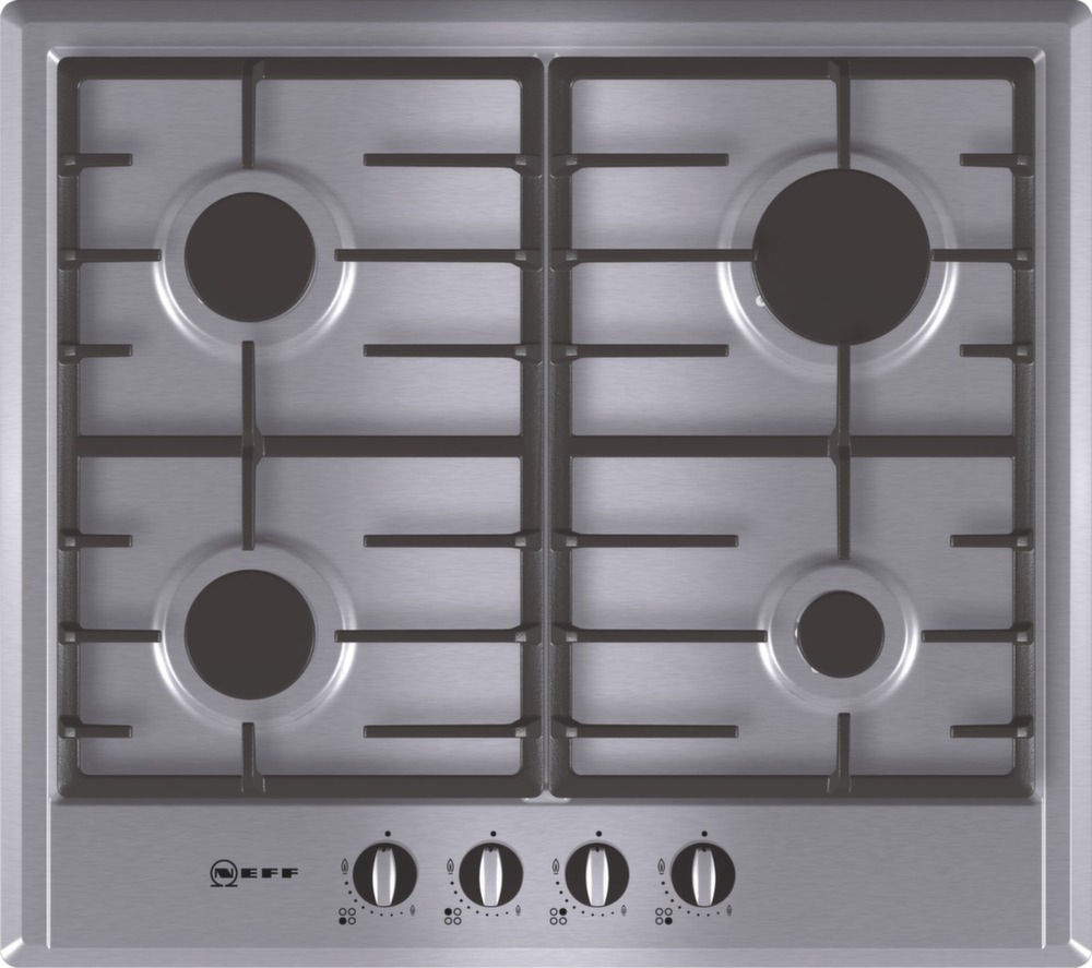 NEFF T22S36N0GB Gas Hob - Stainless Steel