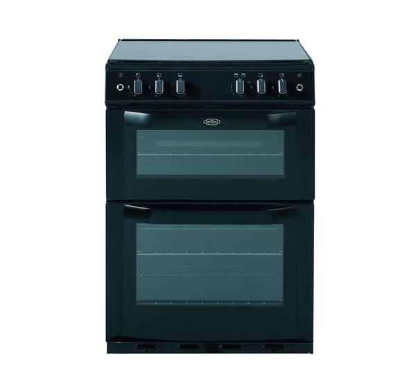 BELLING FSG60DO Gas Cooker - Black