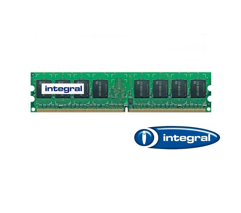 INTEGRAL PC2-6400 DDR2-800 PC Memory - 2GB DIMM RAM