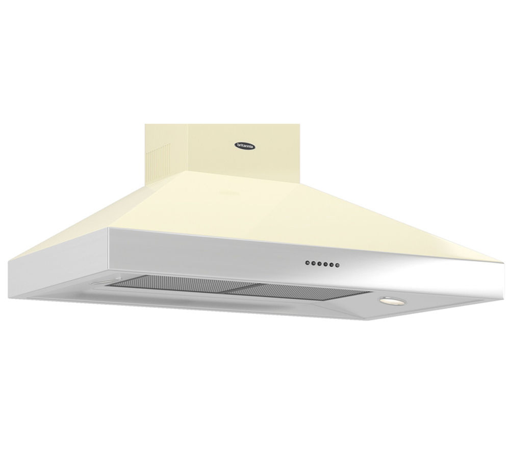 BRITANNIA Latour TPBTH100GC Chimney Cooker Hood - Gloss Cream