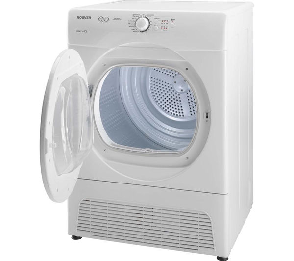 buy hoover vtc5911nb condenser tumble dryer white free. Black Bedroom Furniture Sets. Home Design Ideas