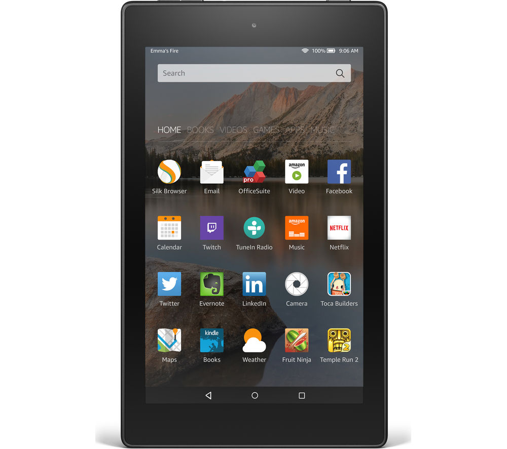 "Image of Amazon Fire HD 8"" Tablet - 8 GB, Black"