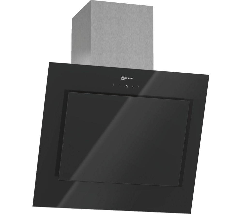 NEFF D36E49S0GB Canopy Cooker Hood - Black